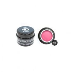 TNL, 4D-гель для дизайна ногтей №6, розовый TNL Professional