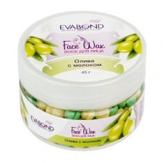 EVABOND, Воск для лица «Face Wax», Олива с молоком, 45 г IRISK