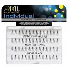 Ardell, Пучки ресниц безузелковые, короткие, чёрные