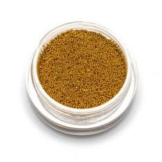 TNL, Бульонки супермелкие, золото, 0,4 мм TNL Professional