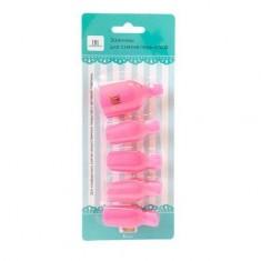 TNL, Зажимы для снятия искусственных покрытий для ног, розовые TNL Professional