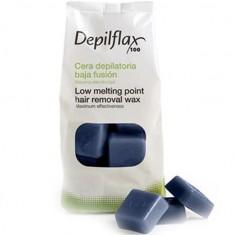 Depilflax воск горячий в дисках азуленовый 1кг
