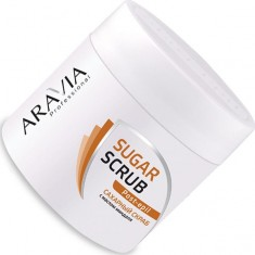 Aravia professional сахарный скраб с маслом миндаля 300мл