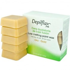 Depilflax воск горячий в дисках золото 0,5кг