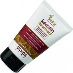 Echos line keratin крем-флюид с маслом аргании и кератином 100мл.против секущихся коников ECHOSLINE