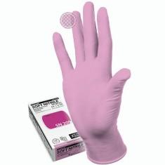 перчатки manual sn-209 xs soft nitrile нитриловые неопудренные розовый