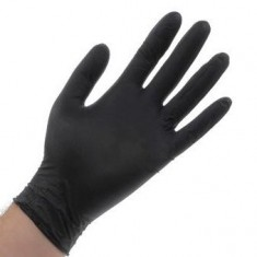 перчатки nitrimax нитриловые неопудренные черные s 100шт ARCHDALE