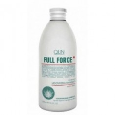Ollin Professional Full Force Anti-Dandruff Moisturizing Shampoo With Aloe Extract - Увлажняющий шампунь против перхоти с алоэ, 300 мл. Ollin Professional (Россия)