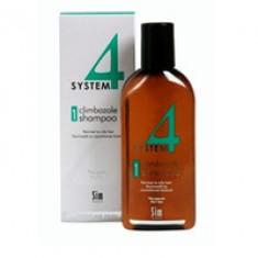 Sim Sensitive System 4 Therapeutic Climbazole Shampoo 1 - Терапевтический шампунь № 1 для нормальной и жирной кожи головы 500 мл Sim Sensitive (Финляндия)