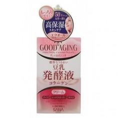 крем подтягивающий для зрелой кожи sana good aging cream