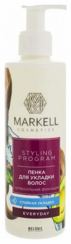 Пенка для волос Markell (Маркелл)
