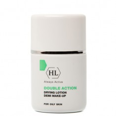 HOLY LAND Лосьон подсушивающий с тоном / Drying Lotion Demi Make Up DOUBLE ACTION 30 мл
