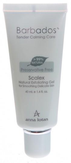 ANNA LOTAN Гель-пилинг натуральный Скалекс / Scalex Natural Exfoliating Gel BARBADOS 40 мл
