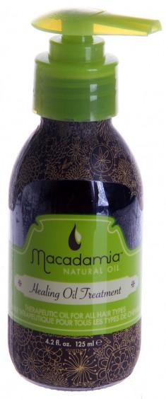 MACADAMIA NATURAL OIL Уход восстанавливающий с маслом арганы и макадамии / Healing Oil Treatment 125 мл