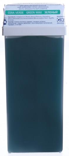 BEAUTY IMAGE Кассета с воском для тела, зеленый / ROLL-ON 110 мл