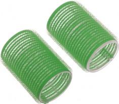 DEWAL PROFESSIONAL Бигуди-липучки зеленые d 61 мм 6 шт/уп