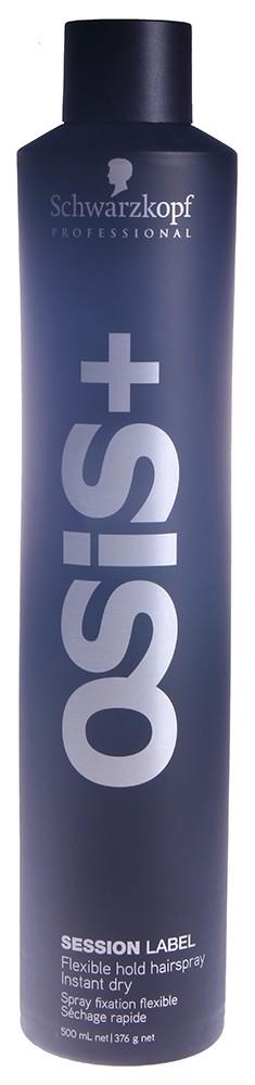 SCHWARZKOPF PROFESSIONAL Лак эластичной фиксации для волос Подиумный / Session Label OSIS+ 500 мл
