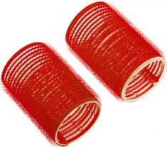DEWAL PROFESSIONAL Бигуди-липучки красные d 13 мм 12 шт/уп