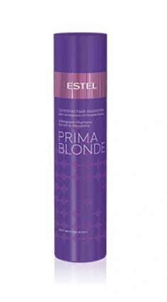 ESTEL PROFESSIONAL Шампунь оттеночный серебристый для холодных оттенков блонд / Prima Blonde 250 мл