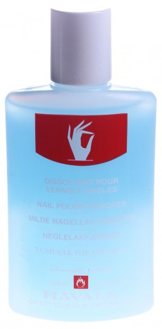 MAVALA Жидкость для снятия лака, голубая / Blue 100 мл