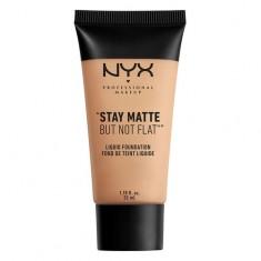 Основа тональная для лица NYX PROFESSIONAL MAKEUP STAY MATTE BUT NOT FLAT тон 03 Natural матирующая