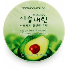 Tony Moly  Clean Dew Avocado Cleansing Cream