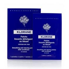 Клоран (Klorane) Успокаивающая маска -компресс для контура глаз 7х2 мл