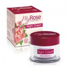 My Rose of Bulgaria Крем для лица ночной против морщин 50 мл Rose of Bugaria