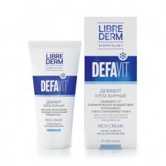 Либридерм Дефавит крем витаминный жирный 50мл Librederm