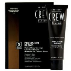 Камуфляж для седых волос, Средний пепельный 5/6, 3 шт.*40 мл (American Crew)