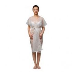 Халат-кимоно без рукавов, белый, 10 шт. (Чистовье) ЧИСТОВЬЕ