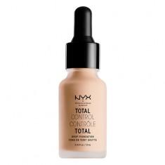 Основа тональная для лица NYX PROFESSIONAL MAKEUP TOTAL CONTROL DROP FOUNDATION тон 06 vanilla