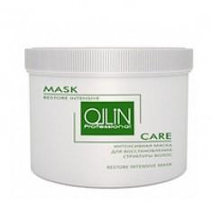Ollin Care Restore Intensive Mask - Интенсивная маска для восстановления структуры волос 500 мл Ollin Professional (Россия)