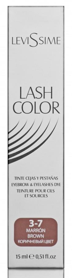LEVISSIME Краска для бровей и ресниц, № 3.7 коричневый / Lash Color 15 мл