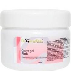 Камуфлирующий розовый гель с перламутром INGARDEN