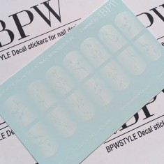 BPW.Style, Слайдер-дизайн «Прозрачные веточки» №3-36, градиент