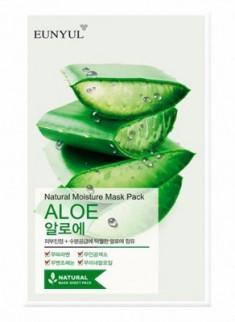 Тканевая маска с алоэ EUNYUL Natural moisture mask pack aloe 23 мл