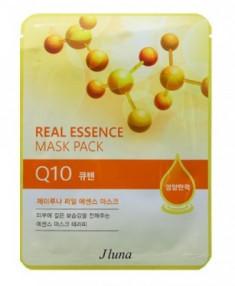 Тканевая маска с коэнзимом Q10 JUNO Real essence mask pack (Q10) 25 мл