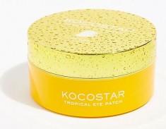 KOCOSTAR Патчи гидрогелевые для глаз Тропические фрукты, манго / Tropical Eye Patch Mango Jar 60 патчей
