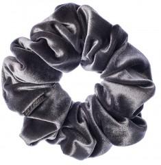 LA FRANCE Резинка бархатная, цвет серый