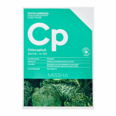 Маска тканевая с брокколи MISSHA Phytochemical Skin Supplement Sheet Mask (Chlorophyll/AC Care)