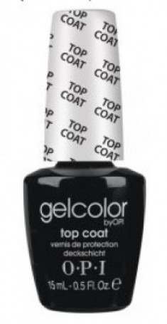 Верхнее покрытие OPI GelColor Top Coat GC030