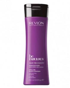 Очищающий шампунь с кератином Revlon Professional C.R.E.A.M. Be Fabulous 250 мл