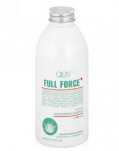 Шампунь увлажняющий против перхоти с экстрактом алоэ OLLIN Full Force 300мл