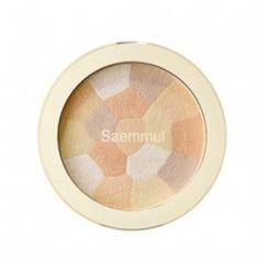 Хайлайтер минеральный THE SAEM Saemmul Luminous Multi Highlighter 02. Gold Beige 8гр