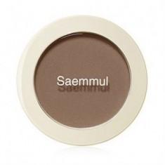 Румяна THE SAEM Saemmul Single Blusher BR01 Call Me Brown 5гр