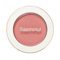 Тени для век мерцающие THE SAEM Saemmul Single Shadow (Shimmer) CR04 Splash Coral 2гр
