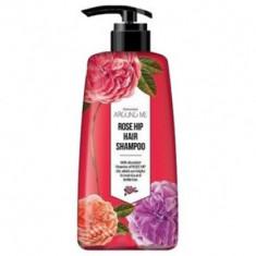 Шампунь для волос Welcos Around me Rose Hip Hair Shampoo 500мл