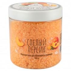 Maknails, соль для маникюра и педикюра, спелый персик, 500 мл