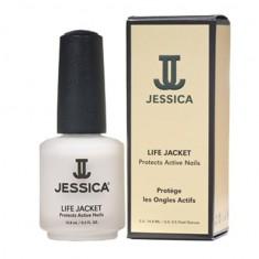Jessica life jacket укрепляющее сред-во для ногтей с микроволокнами 14,8мл